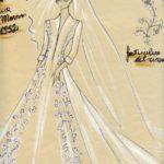 1952-Bozzetto-per-l'abito-da-sposa-Donna-Gioia-Marconi-Braga.-Courtesy_Archivio