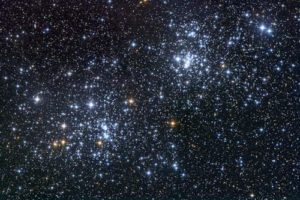cielo stellato infinita lontananza